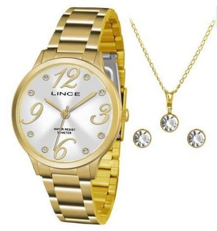 Relógio Lince Feminino - LRGH074L S2KX  - Dumont Online - Joias e Relógios