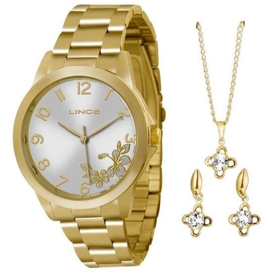Relógio Lince Feminino - LRGJ041L S2KX  - Dumont Online - Joias e Relógios