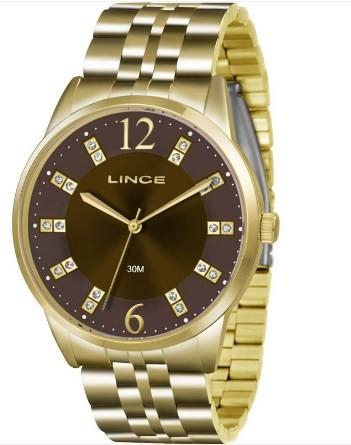 Relógio Lince Feminino - LRGJ044L N2KX  - Dumont Online - Joias e Relógios