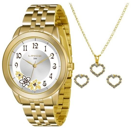 Relógio Lince Feminino - LRGJ053L S2KX  - Dumont Online - Joias e Relógios