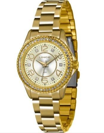 Relógio Lince Feminino - LRGJ055L C2KX  - Dumont Online - Joias e Relógios