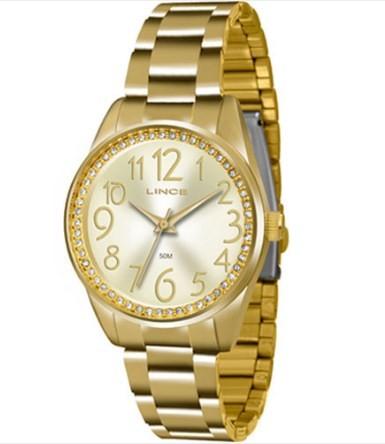Relógio Lince Feminino - LRGJ056L C2KX  - Dumont Online - Joias e Relógios