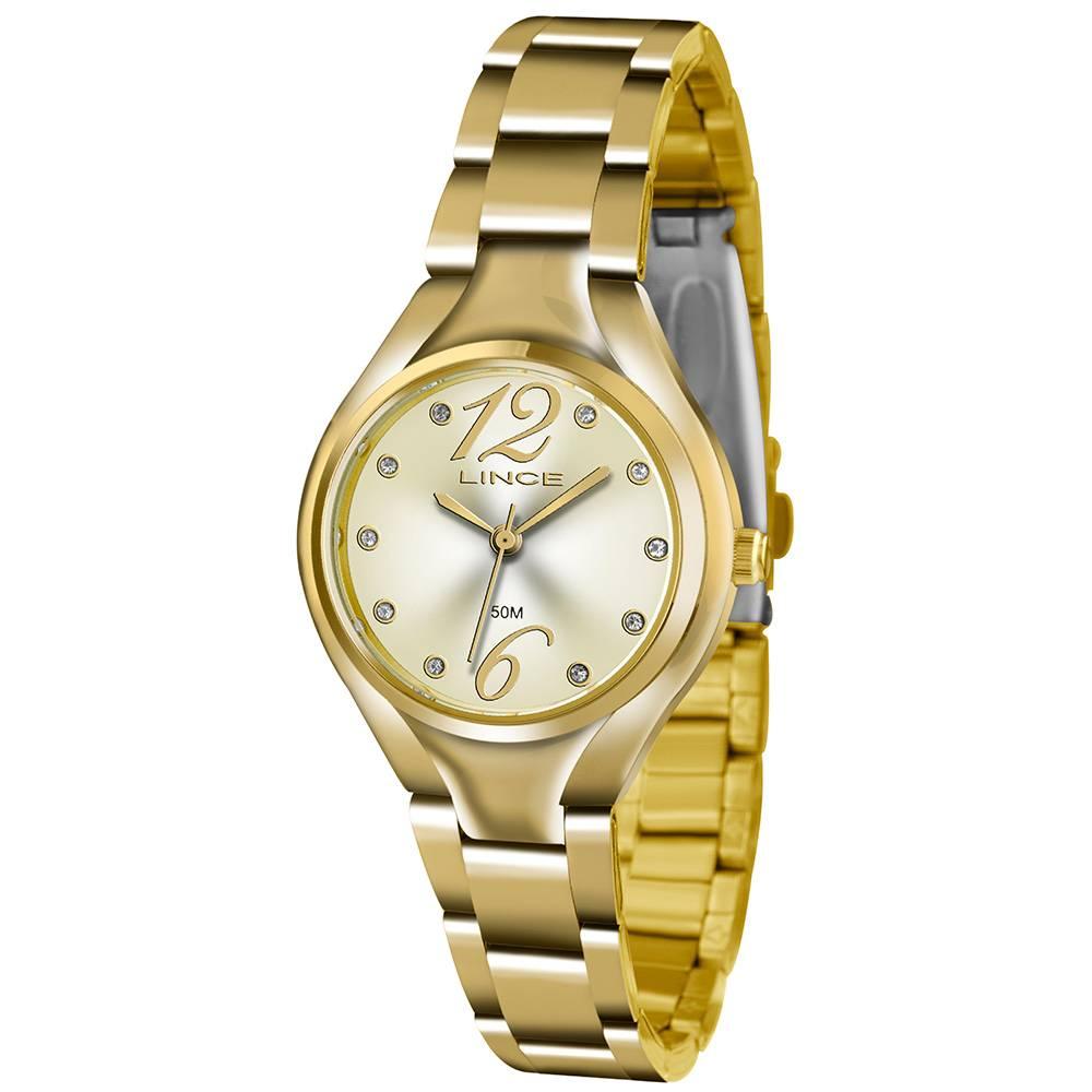 Relógio Lince Feminino - LRGJ057L C2KX  - Dumont Online - Joias e Relógios