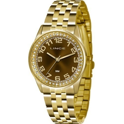 Relógio Lince Feminino - LRGJ058L  - Dumont Online - Joias e Relógios