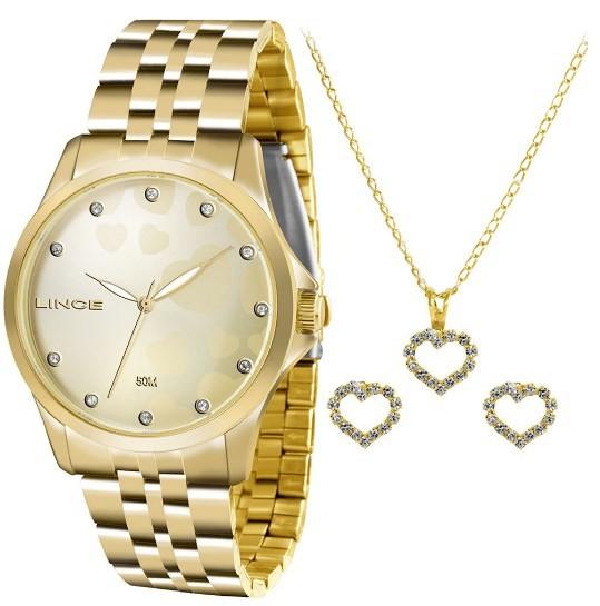 Relógio Lince Feminino - LRGJ064L C1KX  - Dumont Online - Joias e Relógios