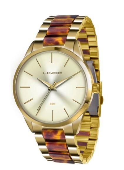 Relógio Lince Feminino - LRT4381L C1NK  - Dumont Online - Joias e Relógios