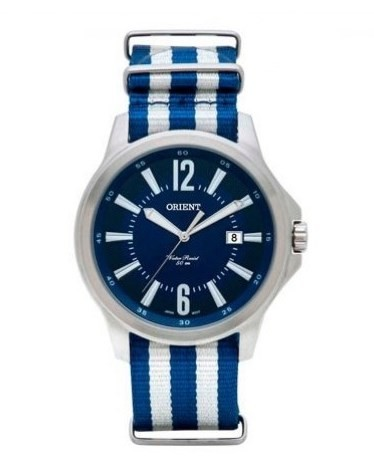 Relógio Orient Masculino - MBSN1002 D2BD  - Dumont Online - Joias e Relógios