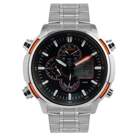 Relógio Orient Masculino - MBSSA044 POSX  - Dumont Online - Joias e Relógios