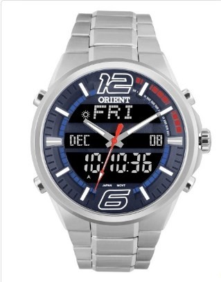 Relógio Orient Masculino - MBSSA047 DVSX  - Dumont Online - Joias e Relógios