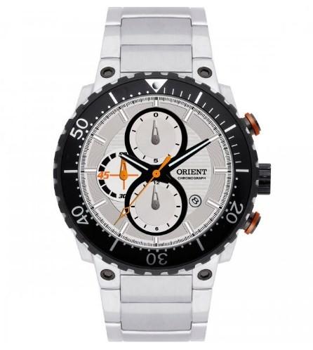 Relógio Orient Masculino - MBSSC027 S1SX  - Dumont Online - Joias e Relógios