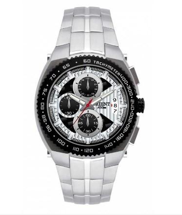 Relógio Orient Masculino Cronógrafo - MBSSC040 PSSX  - Dumont Online - Joias e Relógios