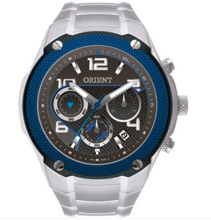 Relógio Orient Masculino - MBSSC061 GASX  - Dumont Online - Joias e Relógios