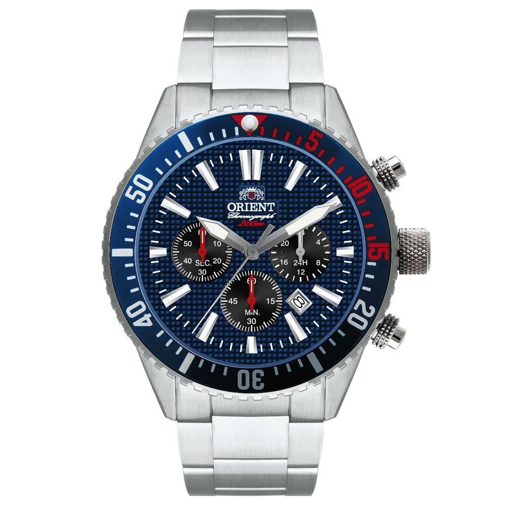Relógio Orient Masculino - MBSSC083 D1SX  - Dumont Online - Joias e Relógios