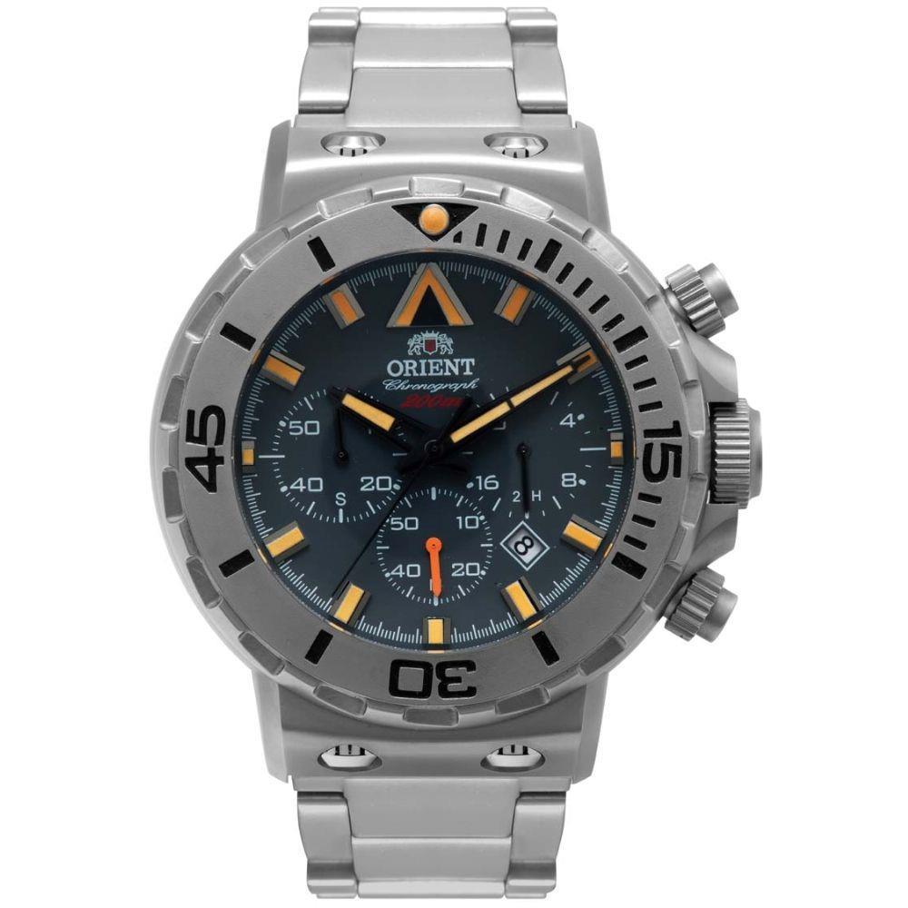 Relógio Orient Masculino - MBSSC095  - Dumont Online - Joias e Relógios