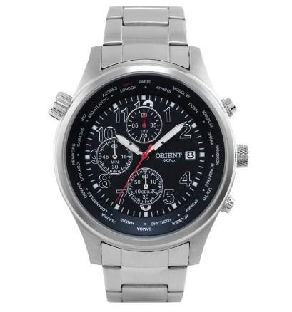 Relógio Orient Masculino - MBSSC106 P2SX  - Dumont Online - Joias e Relógios