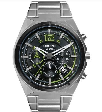 Relógio Orient Masculino - MBSSC132 PESX  - Dumont Online - Joias e Relógios