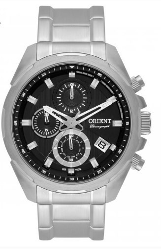 Relógio Orient Masculino - MBSSC153 P1SX  - Dumont Online - Joias e Relógios