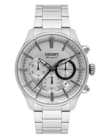 Relógio Orient Masculino - MBSSC180 S1SX  - Dumont Online - Joias e Relógios
