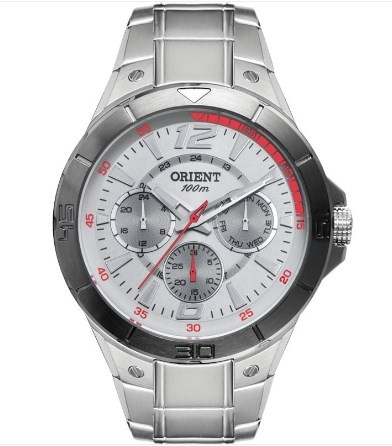 Relógio Orient Masculino - MBSSM062 SVSX  - Dumont Online - Joias e Relógios
