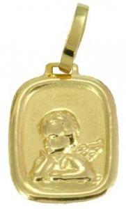 Pingente Medalha em Ouro Amarelo  - Dumont Online - Joias e Relógios