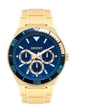Relógio Orient Masculino - MGSSM028  - Dumont Online - Joias e Relógios