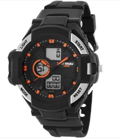 Relógio Mormaii Masculino - MO0B030B/8L  - Dumont Online - Joias e Relógios