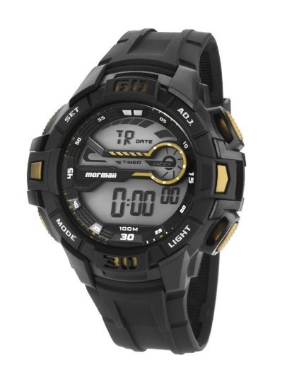 Relógio Mormaii Masculino - MO1081/8D  - Dumont Online - Joias e Relógios