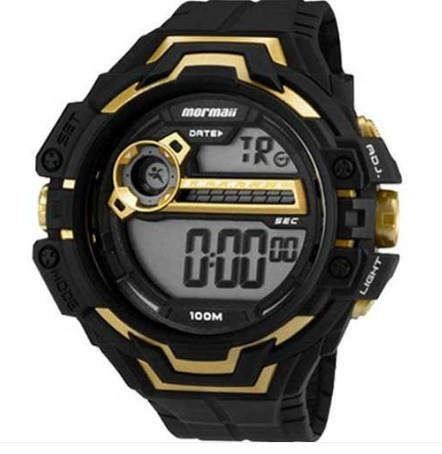 Relógio Mormaii Masculino - MO1082A/8D  - Dumont Online - Joias e Relógios