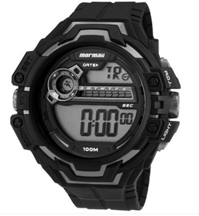 Relógio Mormaii Masculino - MO1082A/8P  - Dumont Online - Joias e Relógios
