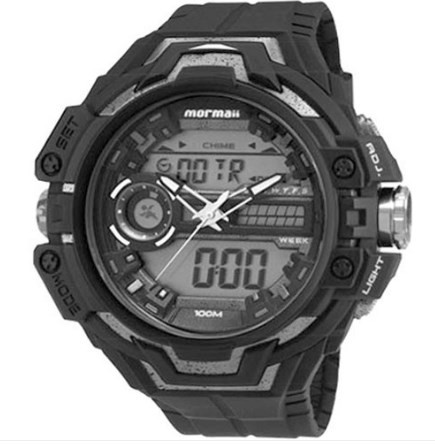 Relógio Mormaii Masculino - MO1082B/8K  - Dumont Online - Joias e Relógios