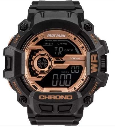 Relógio Mormaii Masculino - MO1105B/8J  - Dumont Online - Joias e Relógios