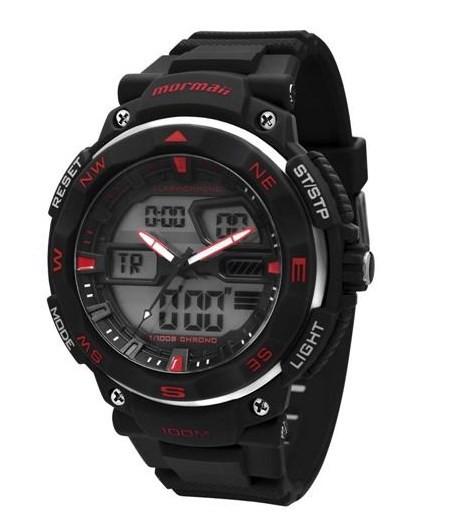 Relógio Mormaii Masculino - MO13611/8R  - Dumont Online - Joias e Relógios