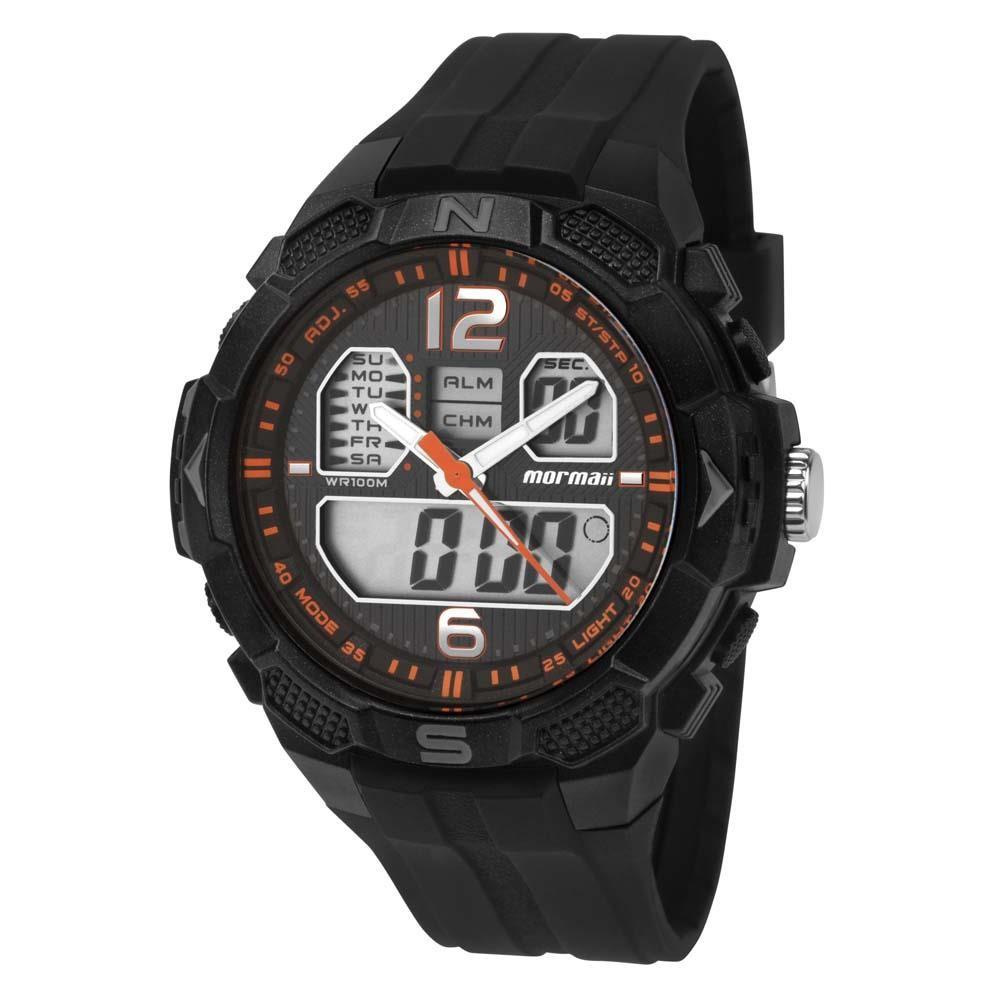 Relógio Mormaii Masculino - MO2909/8L  - Dumont Online - Joias e Relógios