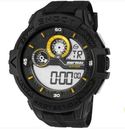 Relógio Mormaii Masculino - MO3900A/8Y  - Dumont Online - Joias e Relógios