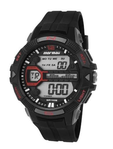 Relógio Mormaii Masculino - MO5000/8R  - Dumont Online - Joias e Relógios