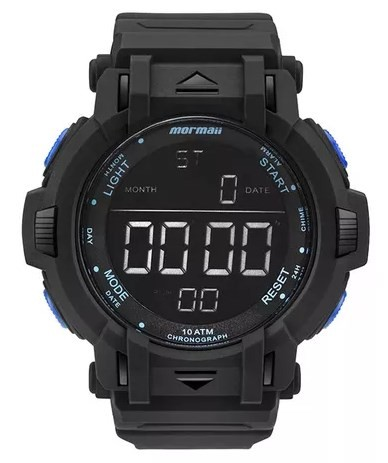 Relógio Mormaii Masculino - MOM08111B/8A  - Dumont Online - Joias e Relógios