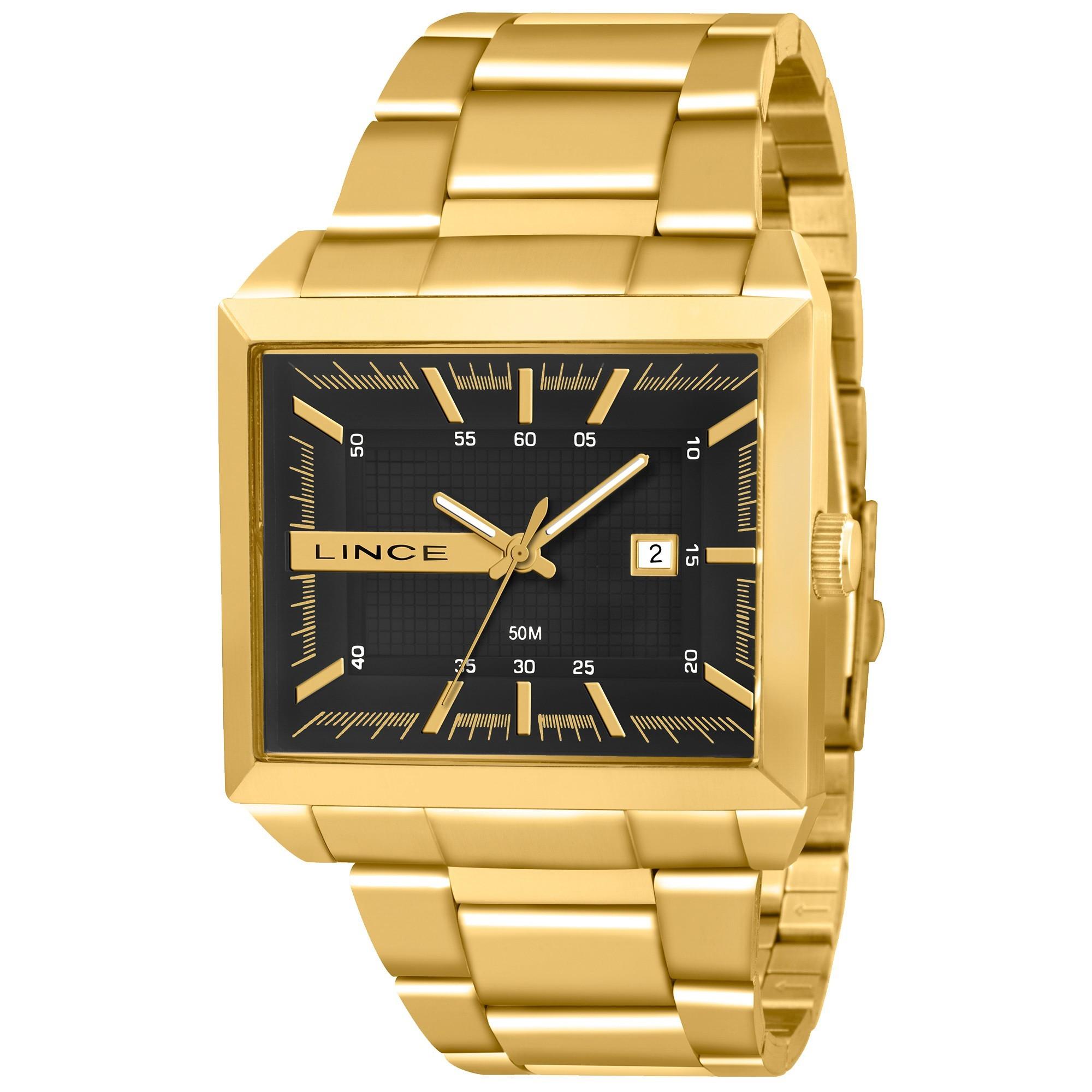 Relógio Lince Masculino - MQG4267S S1KX  - Dumont Online - Joias e Relógios