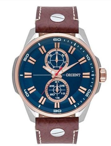 Relógio Orient Masculino - MTSCM004 D1MB  - Dumont Online - Joias e Relógios