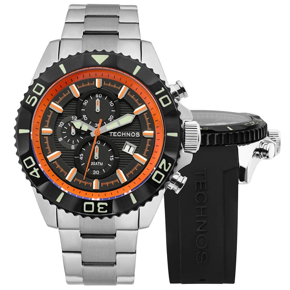 Relógio Technos Masculino - OS10EN/1P  - Dumont Online - Joias e Relógios