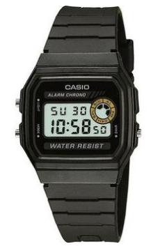 Relógio Casio Masculino - F94WA8DG  - Dumont Online - Joias e Relógios