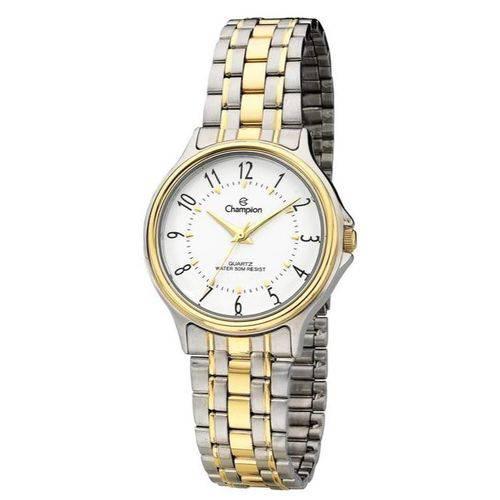 c3b6dbdc3ba Relógio Champion Feminino Prata e Dourado - CH22046B - Dumont Online -  Joias e Relógios