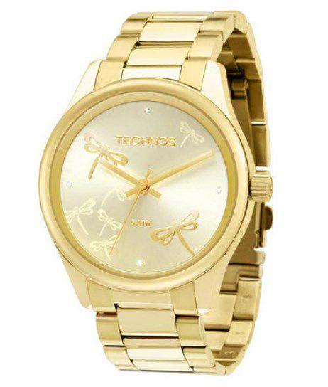 eee8f6a235 Relógio Fashion Trend Technos Feminino - 2035LQV 4X - Dumont Online - Joias  e Relógios