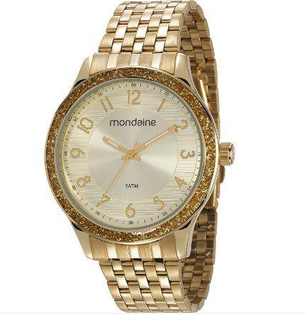 3f49367f72c Relógio Feminino Mondaine - 53649LPMVDE1 - Dumont Online - Joias e Relógios