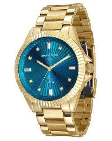 Relógio Feminino Mondaine -76613LPMVDE2  - Dumont Online - Joias e Relógios