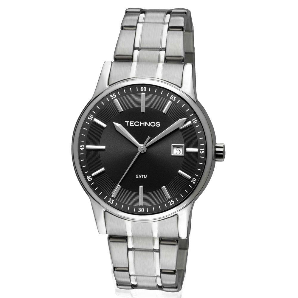 Relógio Technos Masculino - 2115RO/1P  - Dumont Online - Joias e Relógios