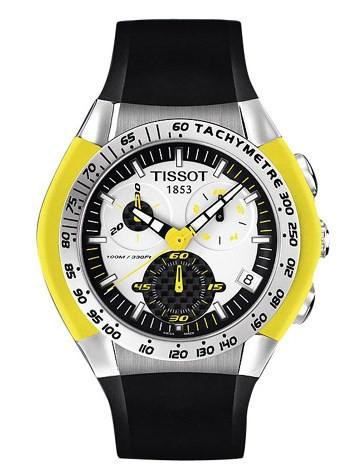 Relógio Tissot T-Tracx 100m Crono Vidro de Safira - T0104171703103  - Dumont Online - Joias e Relógios