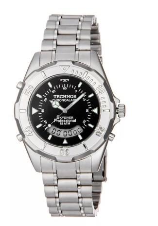 3aa223eecba87 Relógio Technos Skydiver Masculino - T20557 1P - Dumont Online - Joias e  Relógios