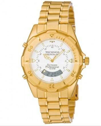 Relógio Technos Masculino - T20557/49B  - Dumont Online - Joias e Relógios