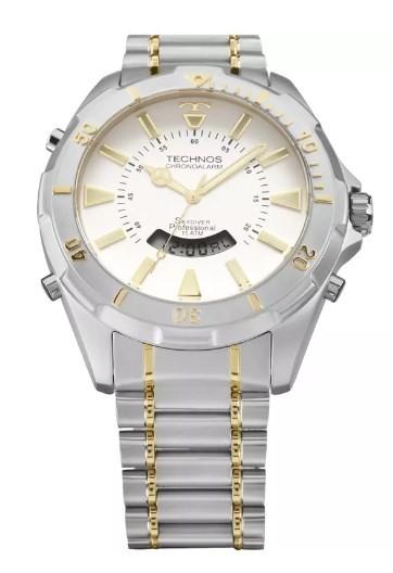 Relógio Masculino Technos - T205FQ/5B  - Dumont Online - Joias e Relógios