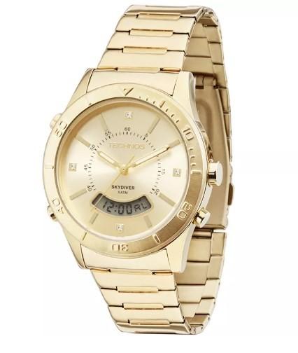 Relógio Feminino Technos - T205FS/4X  - Dumont Online - Joias e Relógios